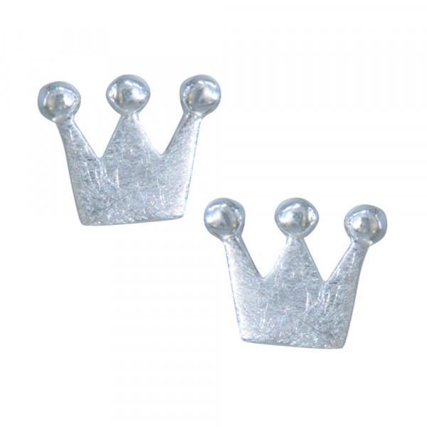 OS Krone gebürstet 925 Silber