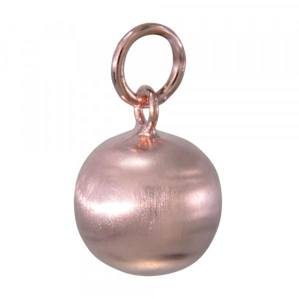 AH Kugel 12 mm rosé verg./matt. 925 Silber