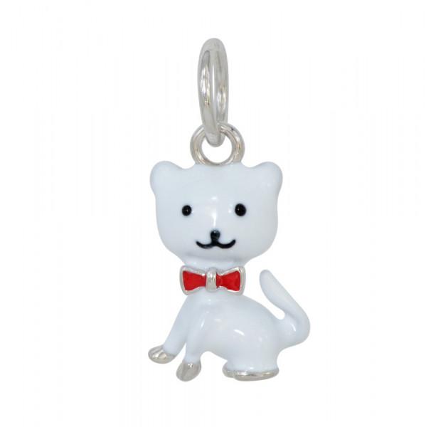 AH weiße Katze 925 Silber