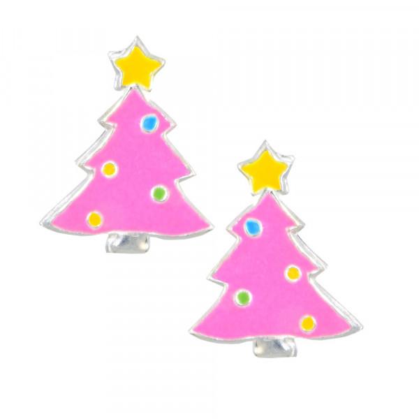 OS Tannenbaum pink 925 Silber