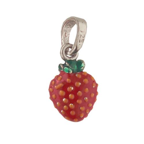 Erdbeeren Anhänger