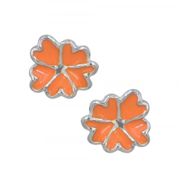 *OS orange Blüte 925 Silber