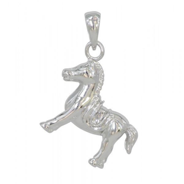 AH braves Pferd 925 Silber rhod.