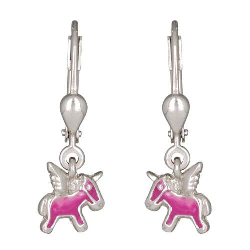 Pegasus Ohrhänger rosa