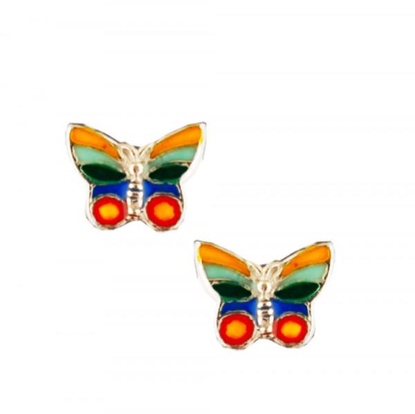 Schmetterling Ohrstecker