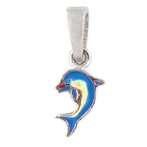 AH Delphin blau 925 Silber