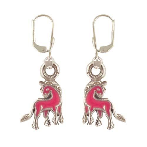 Einhorn Ohrhänger rosa