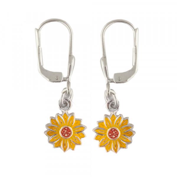 Blüte Ohrhänger gelb