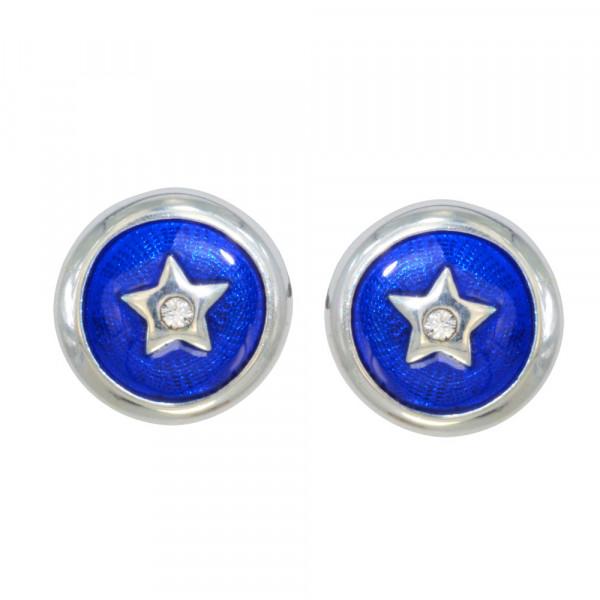 *OS Blue Star 925 Silber