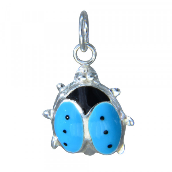 AH Marienkäfer hellblau
