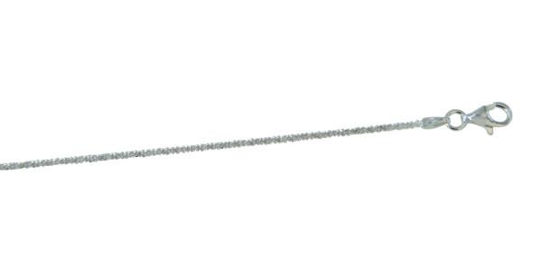 Kette diamantiert 1,2 mm/42 cm 925 Silber