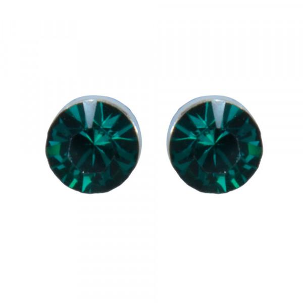 OS emerald 2 mm 925 Silber