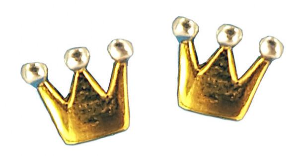 OS Krone vergoldet 925 Silber