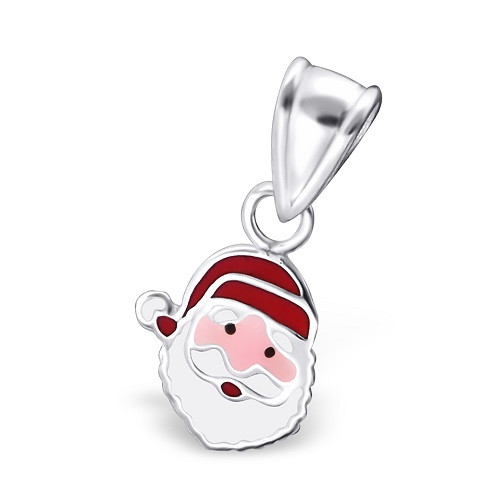 AH Weihnachtsmannkopf 925 Silber