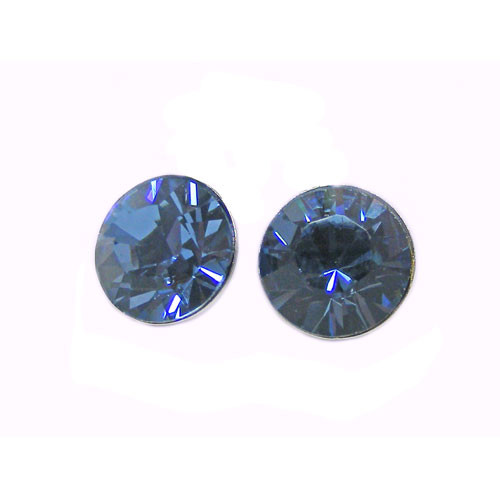 OS denim blue 6 mm with crystals from Swarovski ®