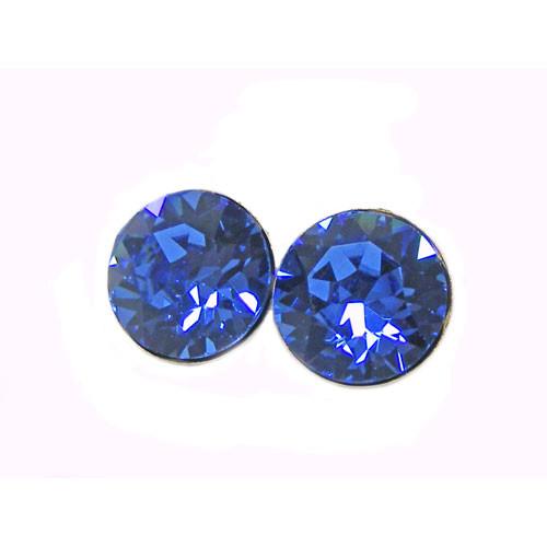 OS sapphire 8 mm 925 Silber
