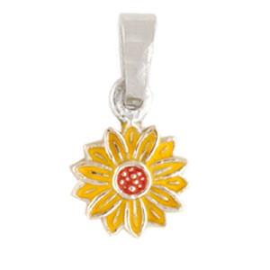 Blüte Anhänger gelb