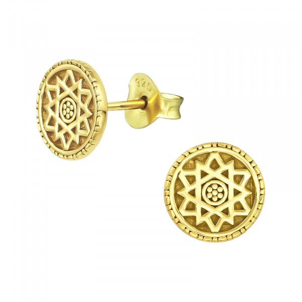 OS Mandala 925 Silber vergoldet