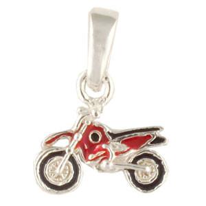 Motorrad Anhänger rot