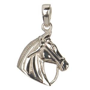 *Pferdekopf Anhänger silber