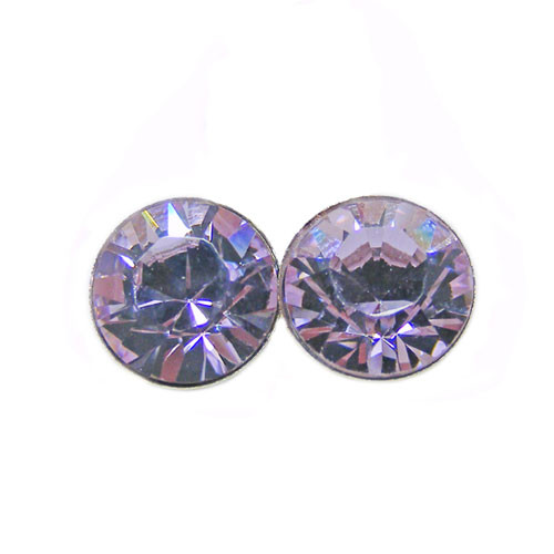OS violet 6 mm with crystals from Swarovski ®