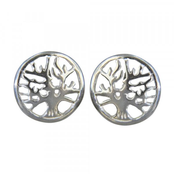 OS Baum des Lebens 925 Silber e-coated