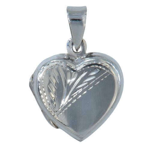 Anhänger Medaillon Herz mit Gravur