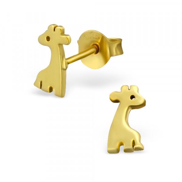 OS Giraffe 925 Silber vergoldet