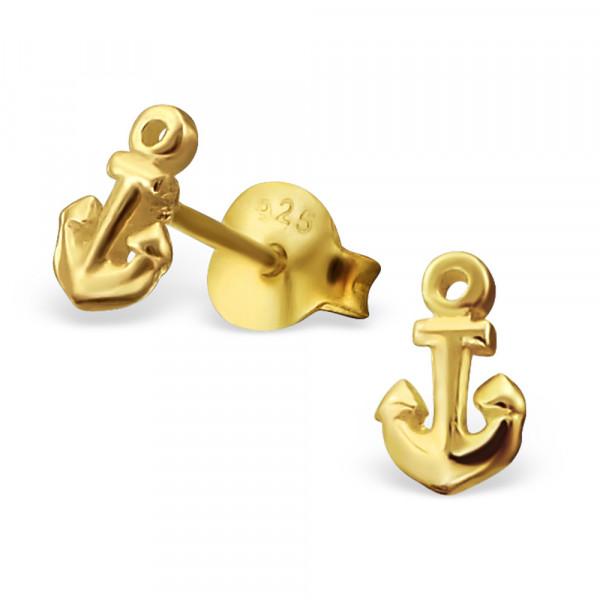 OS Anker 925 Silber vergoldet