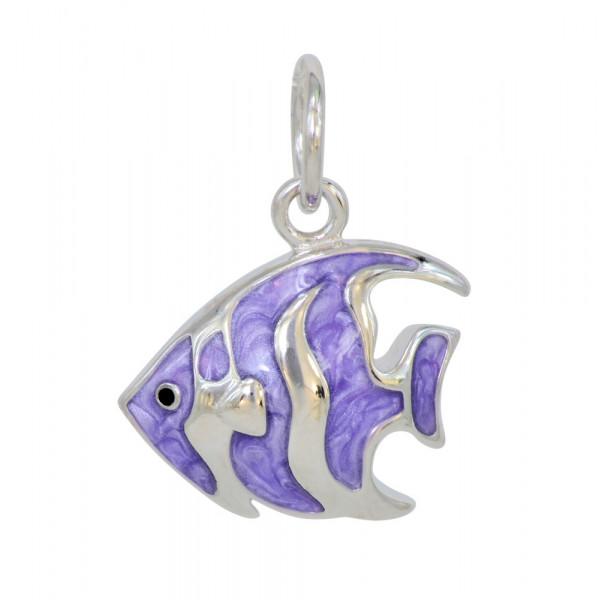 *AH lila Fisch 925 Silber