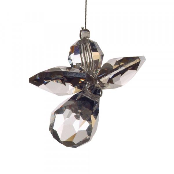 Schutzengel mit Swarovski-Kristall Silber-Copy