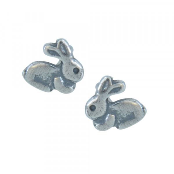 OS kleines Häschen 925 Silber e-coated