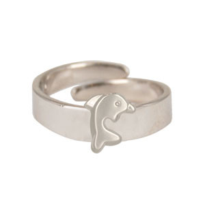 Ring Delphin 925 Silber
