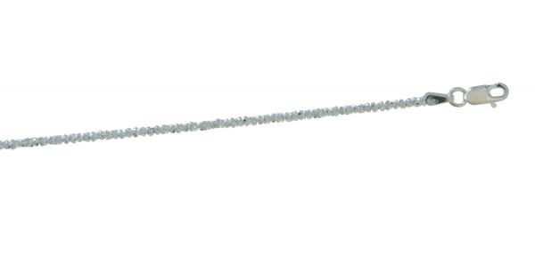 Kette diamantiert 1,2 mm/50 cm 925 Silber