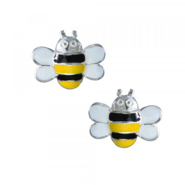 OS flotte Biene 925 Silber e-coated