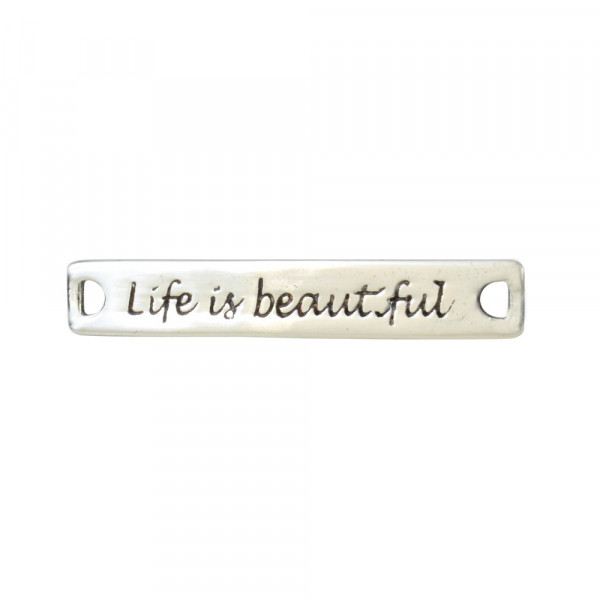 "AH ""Life is beautiful"" 925 Silber"