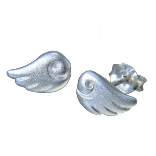 OS Flügel 925 Silber mattiert