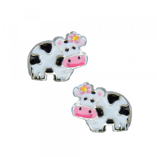 OS süße Kuh 925 Silber e-coated