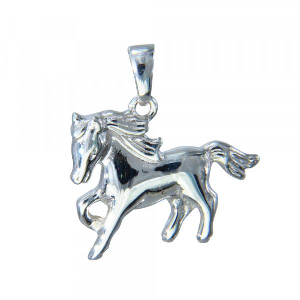 AH schlichtes Pferd 925 Silber