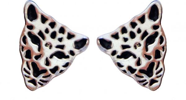 OS Leopard 8mm 925er Silber e-coated