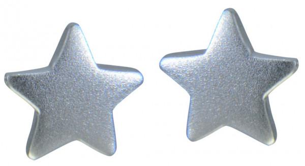 OS Stern mattiert 925 Silber